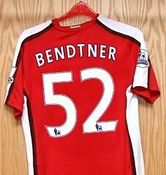 Nicklas Bendtner's new kit