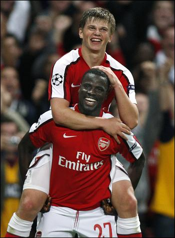 Arshavin and Eboue