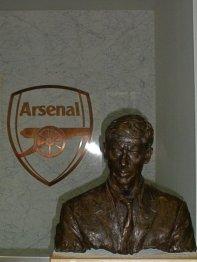 Arsene Wenger Statue