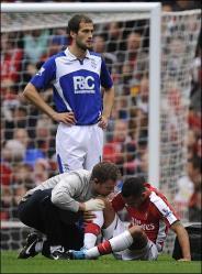 Theo Walcott injury