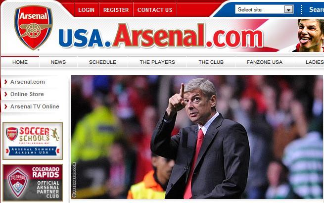 USA.Arsenal.com