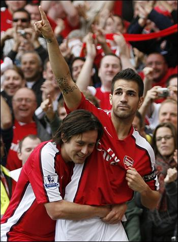 Cesc and the badge